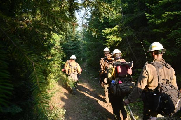 Incident Photo for the Nez Perce-Clearwater Lightnings Fire