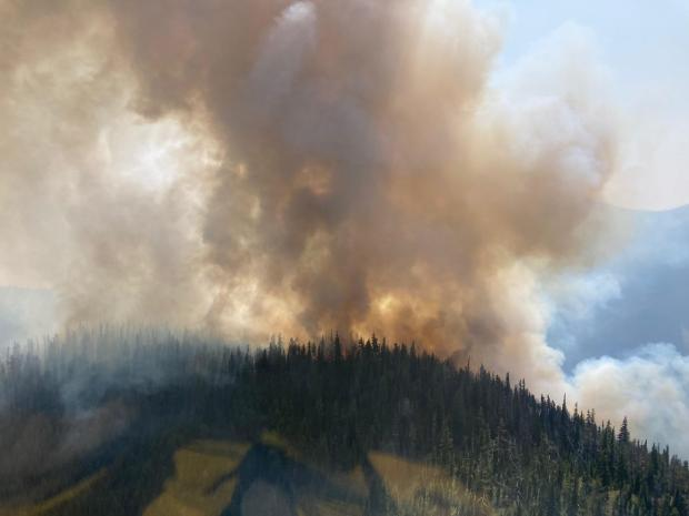 Incident Photo for the Hay Creek Fire