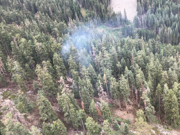 Incident Photo for the Deer Fire