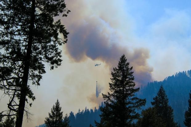Incident Photo for the McCash Fire