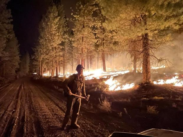 Incident Photo for the Black Butte Fire