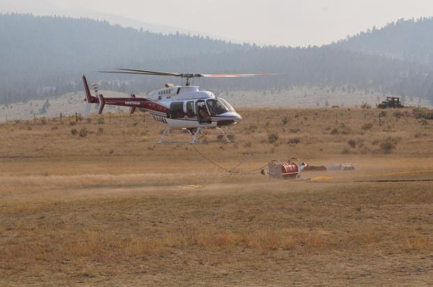 Incident Photo for the Haystack Fire