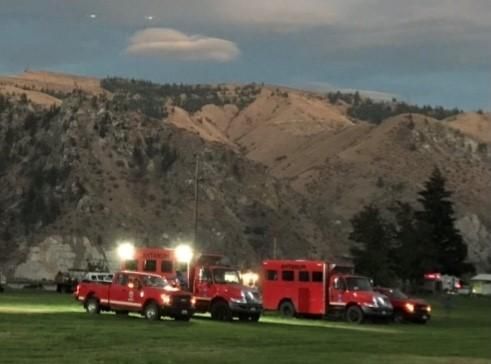Incident Photo for the Moe Canyon Fire