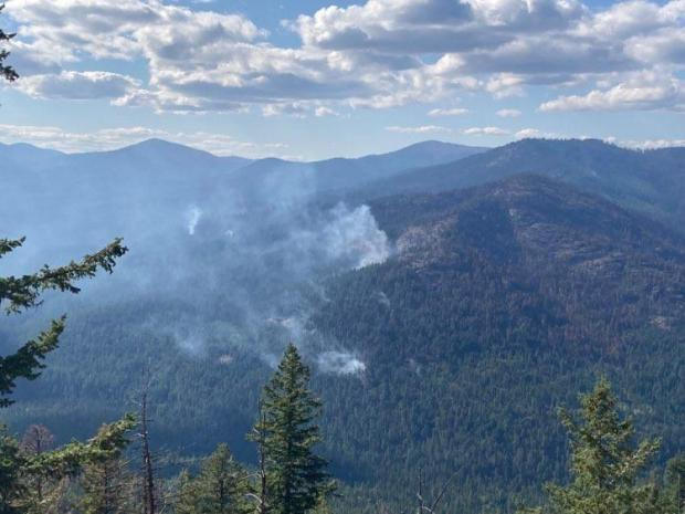 Incident Photo for the Bulldog Mountain Fire