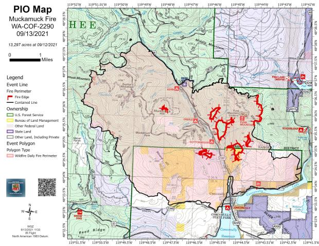 Incident Photo for the Muckamuck Fire