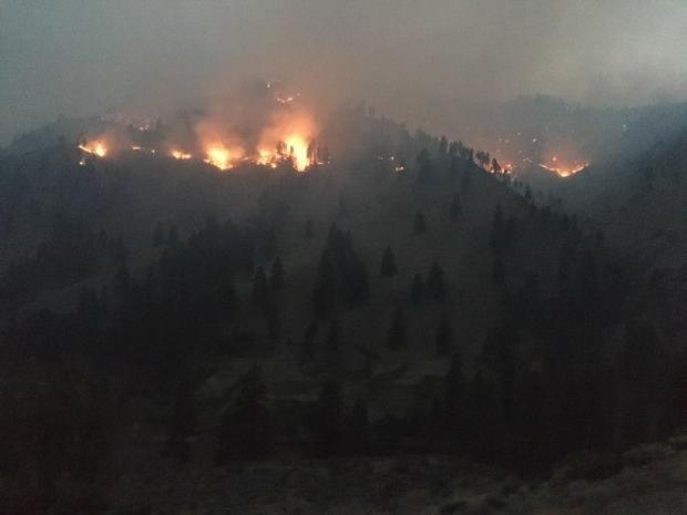 Incident Photo for the Scarface Fire