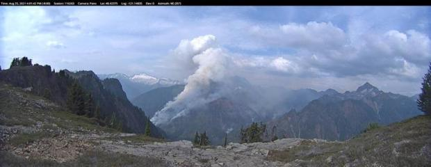 Incident Photo for the Pincer Creek Fire